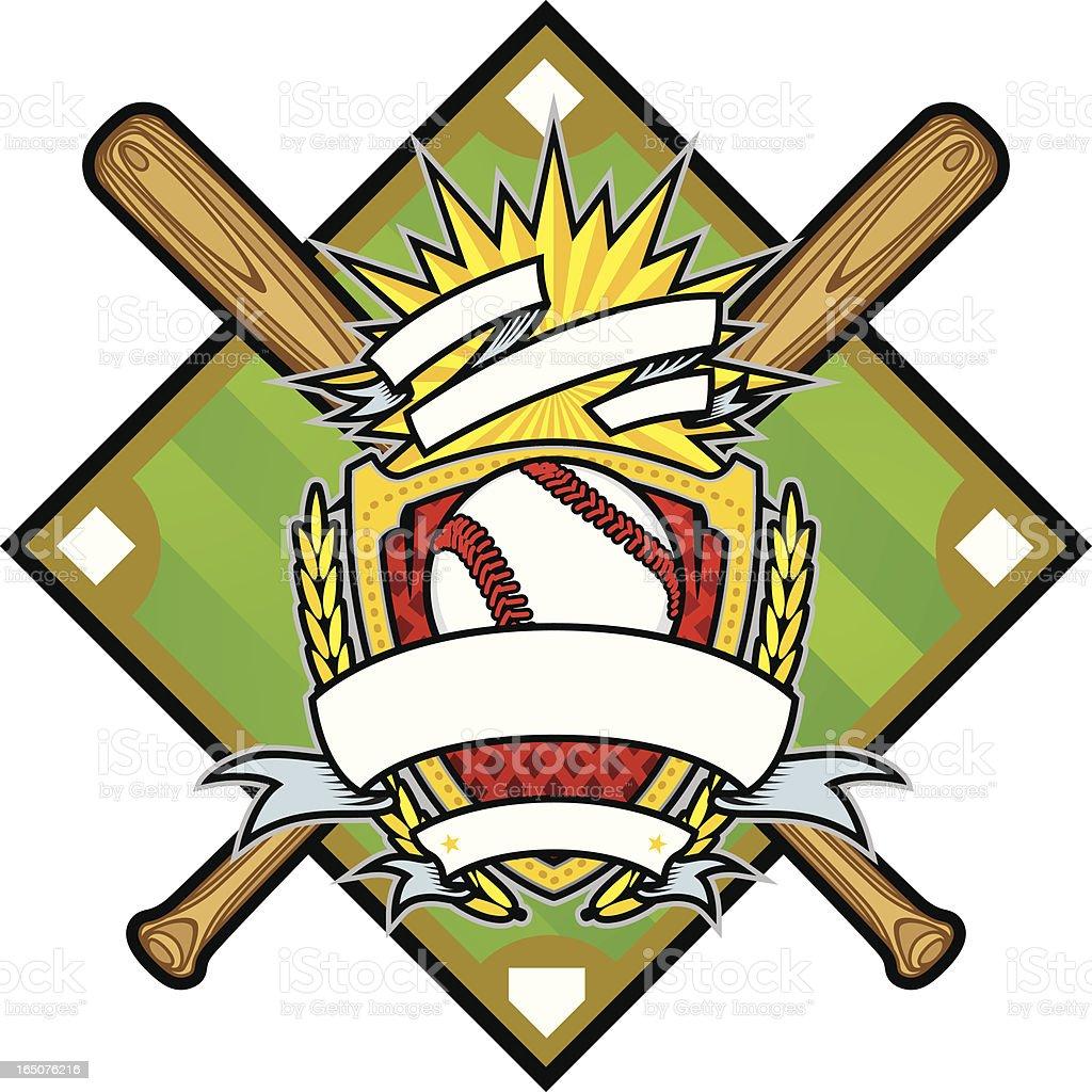 Baseball Package III royalty-free stock vector art