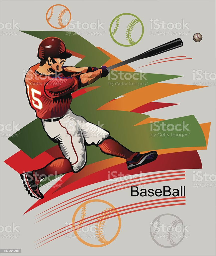 Baseball  Pancher royalty-free baseball pancher stock vector art & more images of athlete