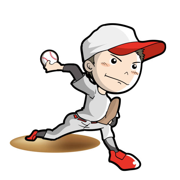 Top 60 Baseball Pitcher Clip Art, Vector Graphics and ...