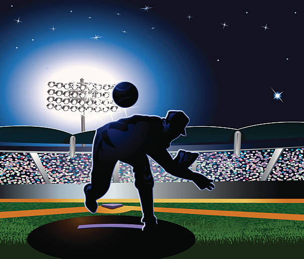 Stadium Lights Svg: Top Baseball Pitcher Clip Art, Vector Graphics And