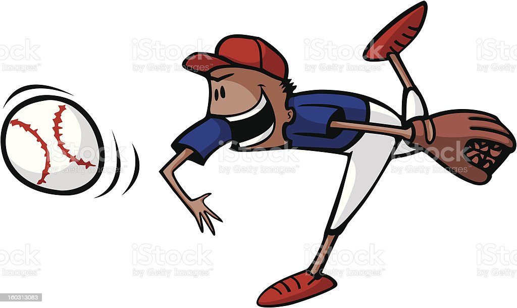 Ilustración de Béisbol Del Lanzamiento Y Para Niños y más banco de ...