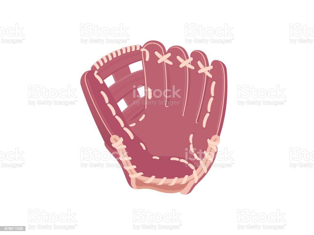 Baseball protection glove royalty-free baseball protection glove stock illustration - download image now