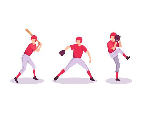 Baseball sport athlete