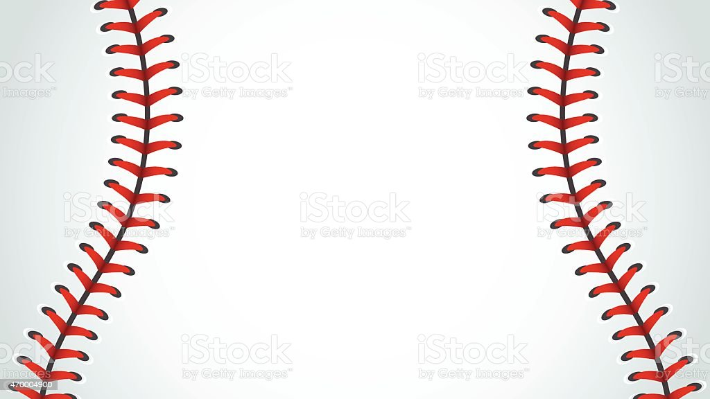 야구공, 스포츠, 배경 벡터 아트 일러스트