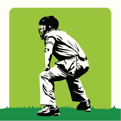 Baseball - Stylized umpire