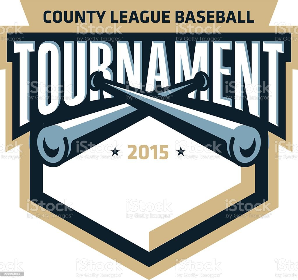 Baseball Tournament Logo royalty-free baseball tournament logo stock vector art & more images of 2015