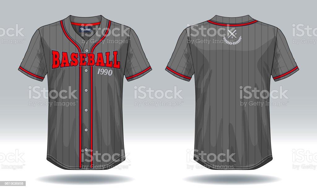 Y Mock De Camiseta Más Ilustración Banco Imágenes Up Béisbol BRq6Xp7