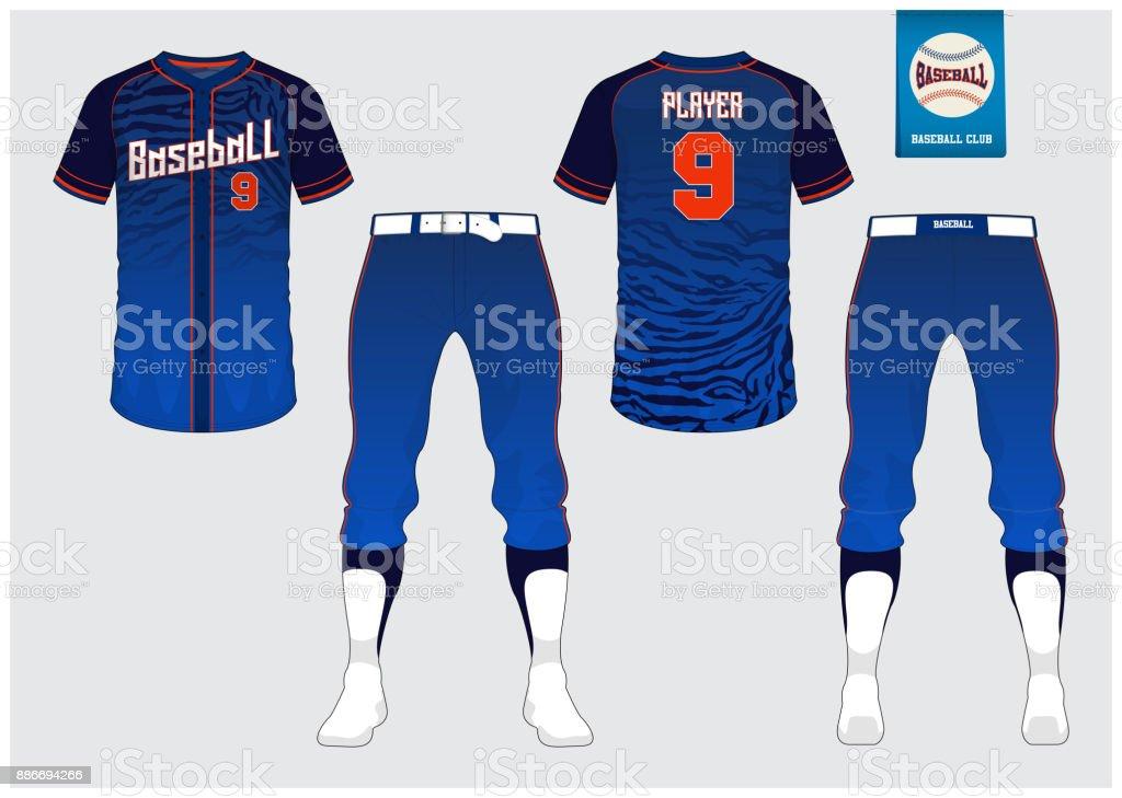 Ilustración de Uniforme De Béisbol Deporte Jersey Camiseta Deporte ...
