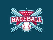 Modern vector Baseball emblem