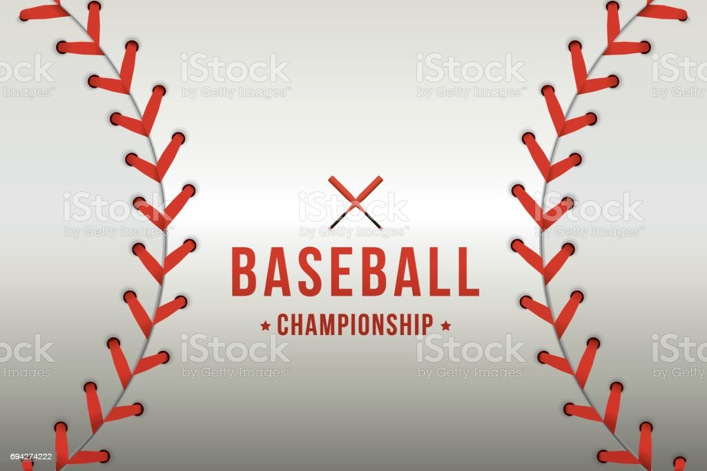 Joueur de baseball - Illustration vectorielle