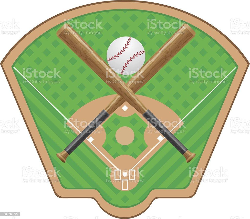 baseball vector royalty-free stock vector art
