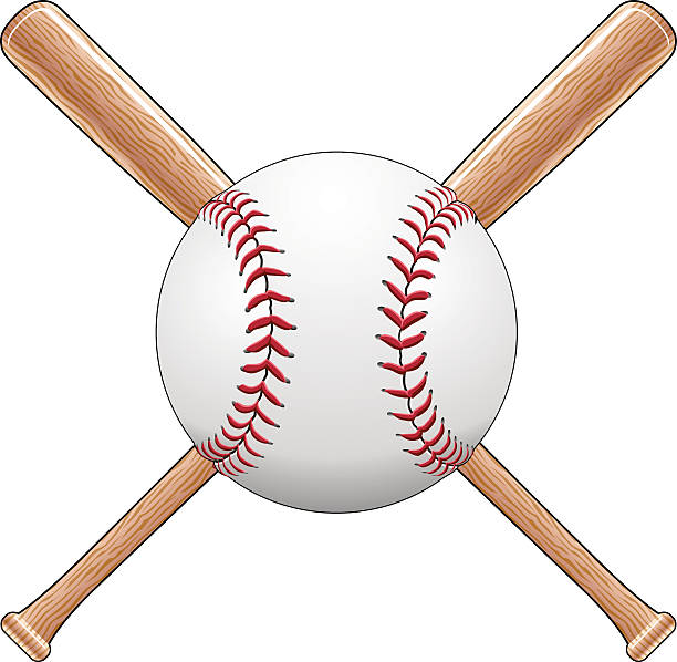 Royalty Free Sports Bat Clip Art, Vector Images ...