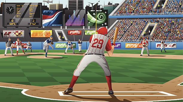 Baseballs - Illustration vector art illustration