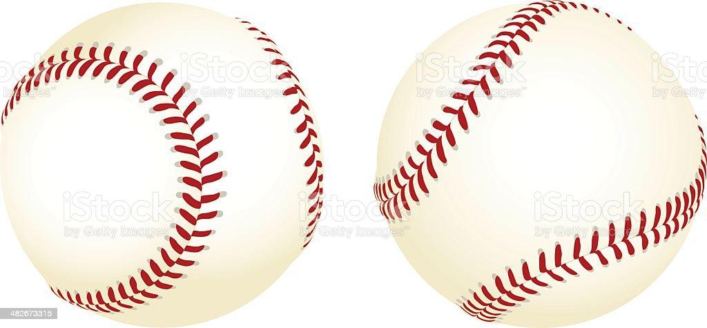 Baseballs royalty-free baseballs stock vector art & more images of ball