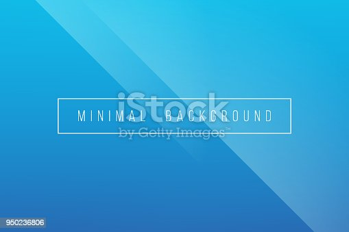 This vector illustration features simple blue minimal abstract vector background. It is a combination of lineer patterns incorporating bright colors. The color of blue is commonly related with the concepts of peace, harmony, heaven, sky, sea, depth, unity, trust, security, confidence, water, cold, cleanliness, technology and science, stability, business also season of winter. The image is simple, minimal and elegant. The use of shine and color portrays a sense of crease and simplistic elegance. Image includes a standard license along with the option of upgradeable extended license.