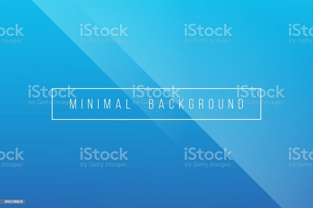 Azul básico mínimo elegante Resumen Lineer pliegue de fondo Vector - ilustración de arte vectorial