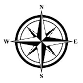 istock Basic Compass Rose 937821298