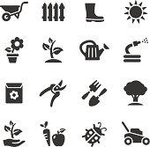 Basic - Gardening icons