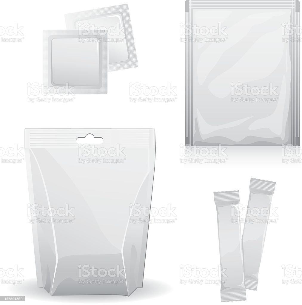 Basic images of design templates vector art illustration