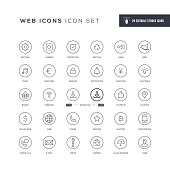29 Basic Interface Icons - Editable Stroke - Easy to edit and customize - You can easily customize the stroke with