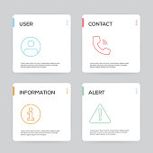 Basic Interface Infographic Design Template