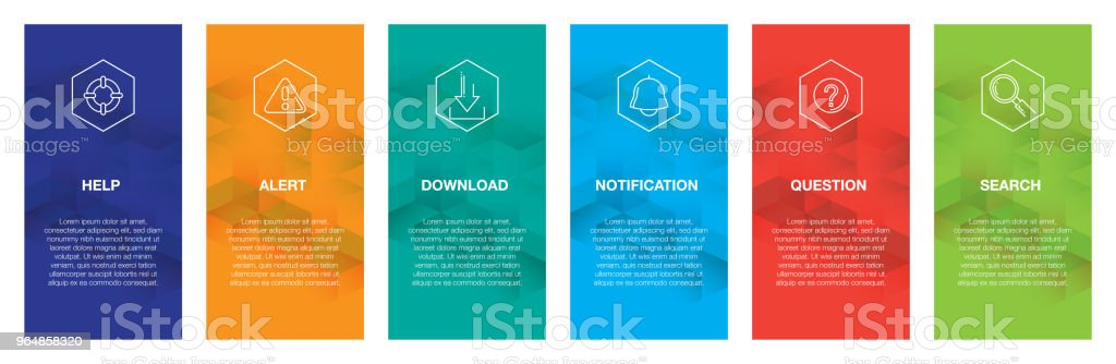 Basic Interface Infographic Icon Set royalty-free basic interface infographic icon set stock vector art & more images of abstract