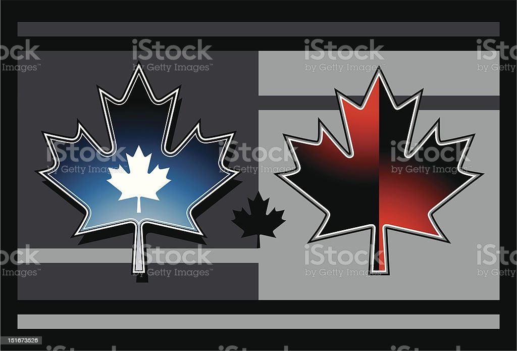 Basic Maple Leaf royalty-free basic maple leaf stock vector art & more images of blue