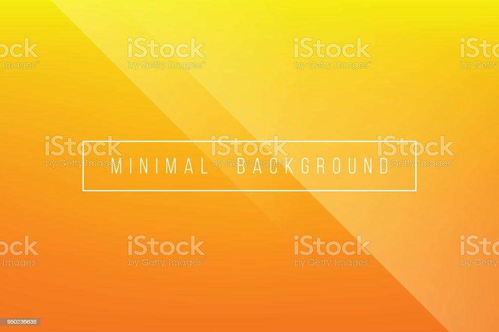 Grundlegende Orange Minimal eleganten abstrakten Lineer Falte Muster Vector Hintergrund – Vektorgrafik