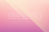 Basic Pink Minimal Elegant Abstract Lineer Crease Pattern Vector Background