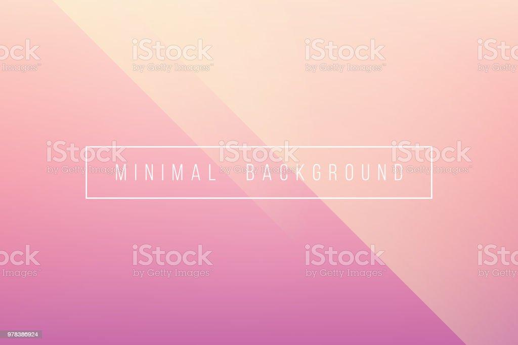 Grundlegende Rosa Minimal eleganten abstrakten Lineer Falte Muster Vector Hintergrund – Vektorgrafik