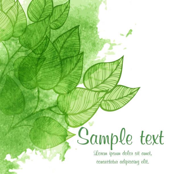 ilustrações, clipart, desenhos animados e ícones de basic rgb - textura de folhas