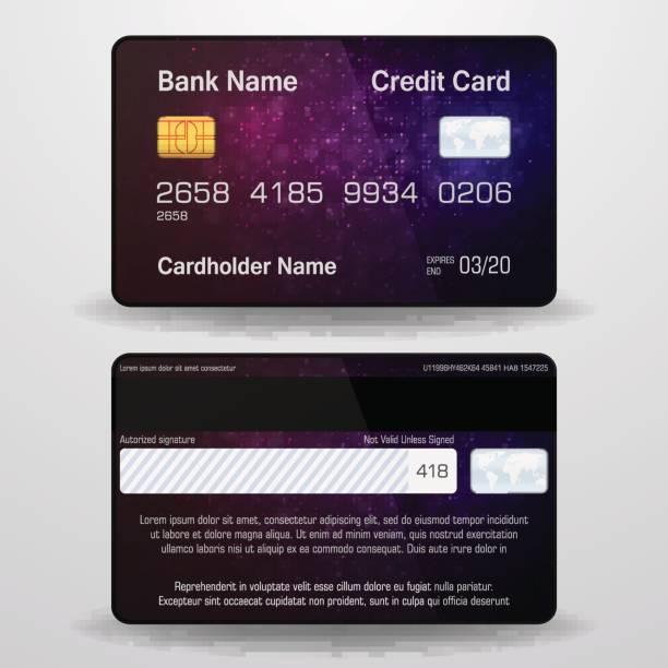 basic rgb - credit cards stock illustrations, clip art, cartoons, & icons