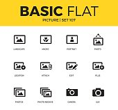 Basic set of Picture icons