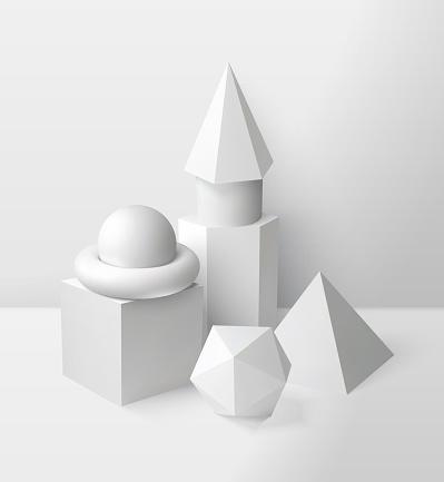 Basic Shapes Composition