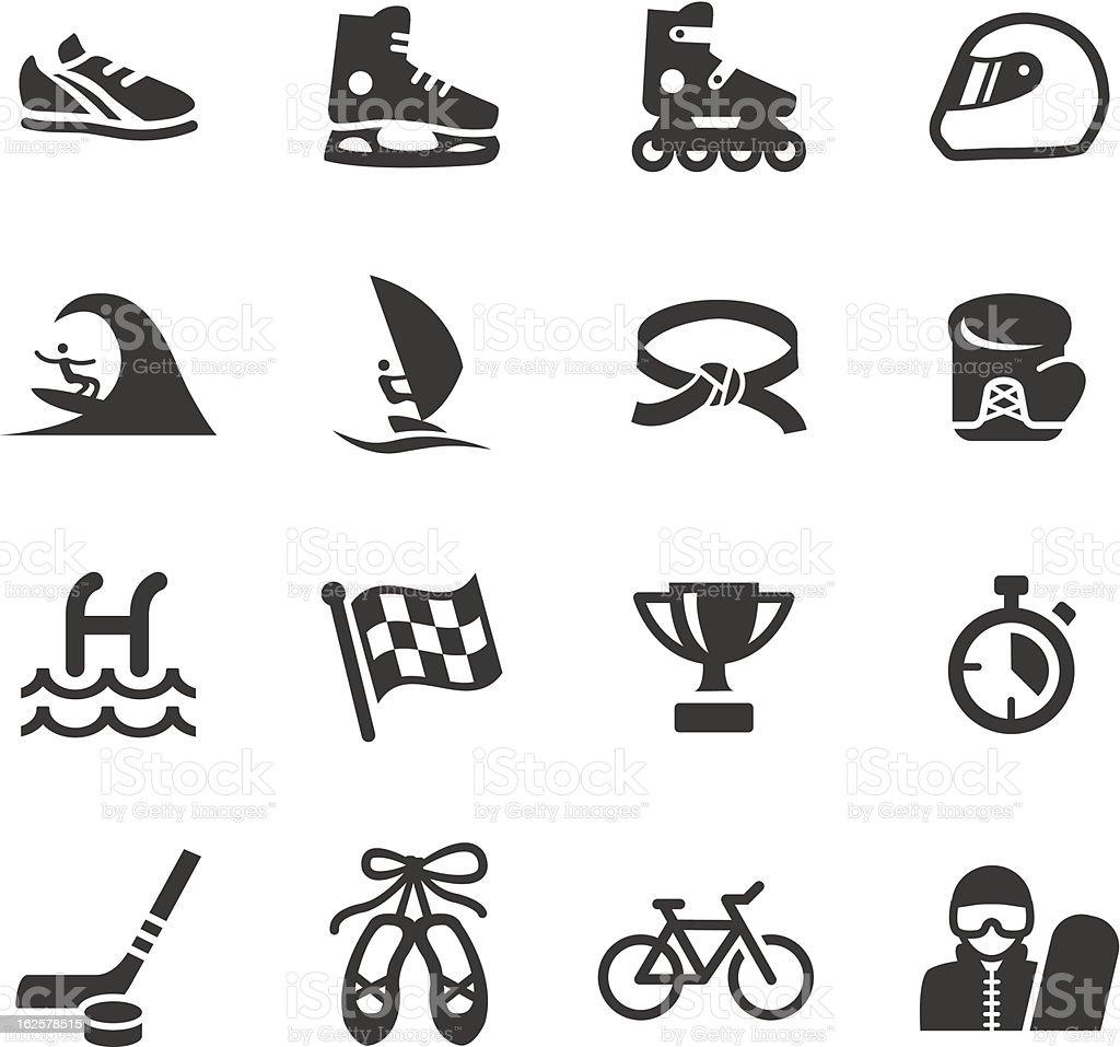 Basic - Sport icons royalty-free stock vector art