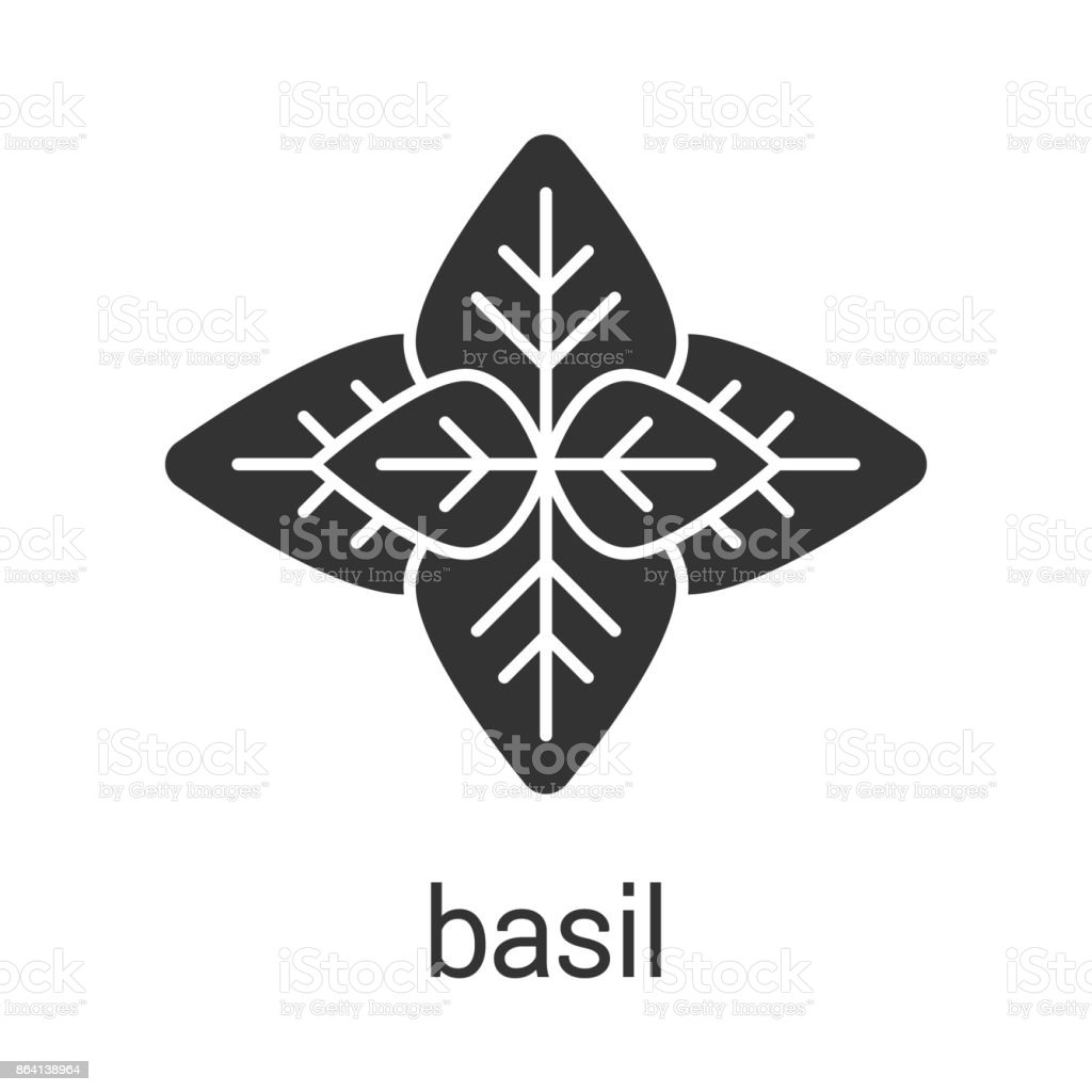 Basil icon royalty-free basil icon stock vector art & more images of basil