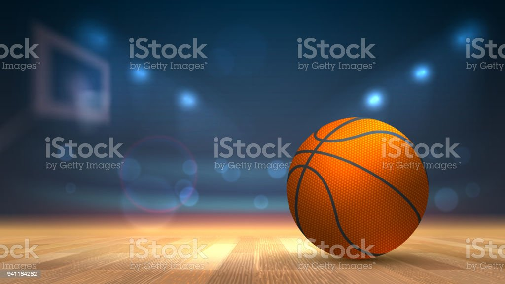 Basket ball, basketball championship. Vector illustration