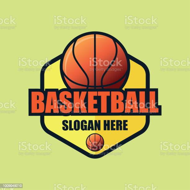 Basket Ball Icon With Text Space For Your Slogan Tag Line Vector Illustration Stock Illustration Download Image Now Istock
