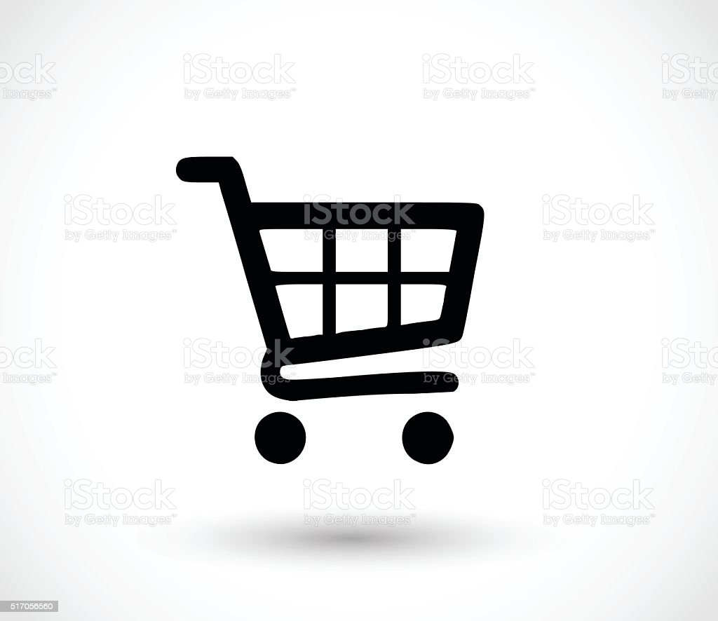 Basket icon vector illustration vector art illustration