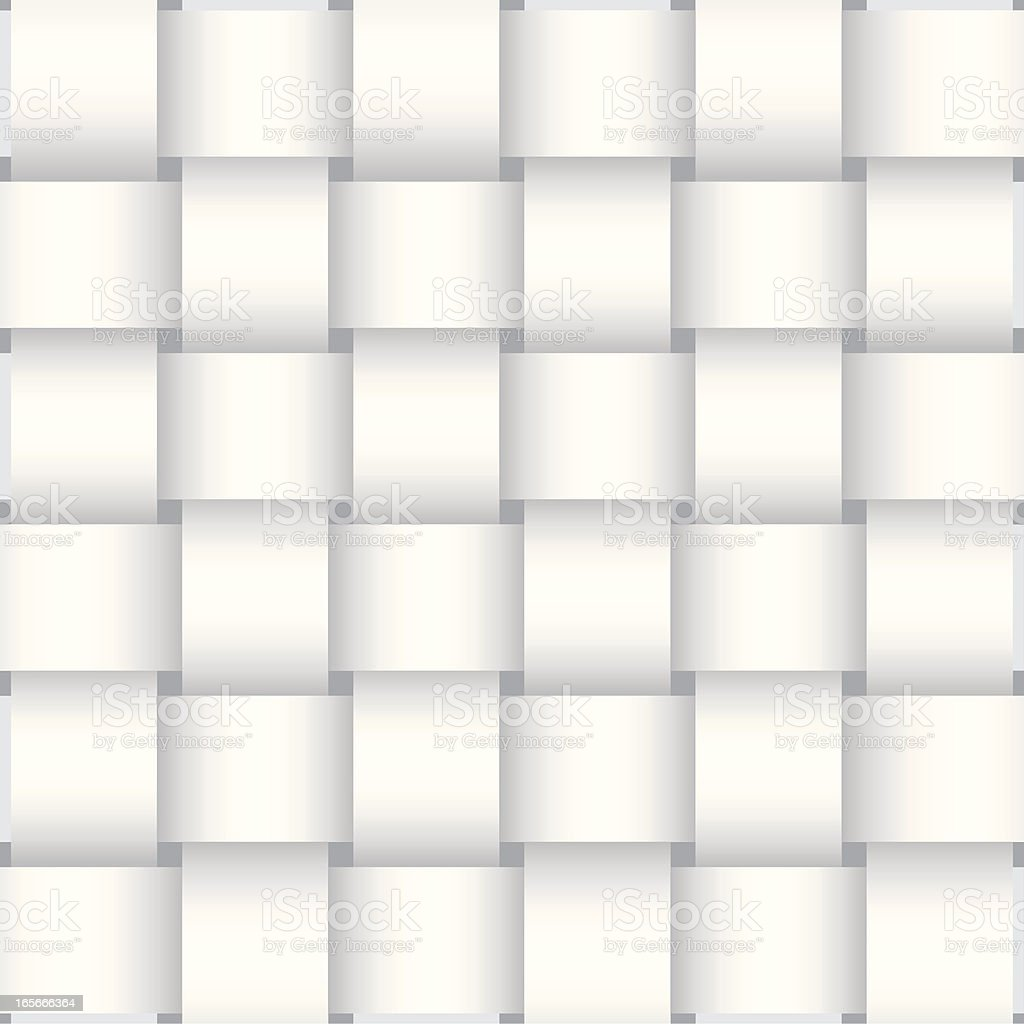 Basket Weave Background Pattern royalty-free stock vector art