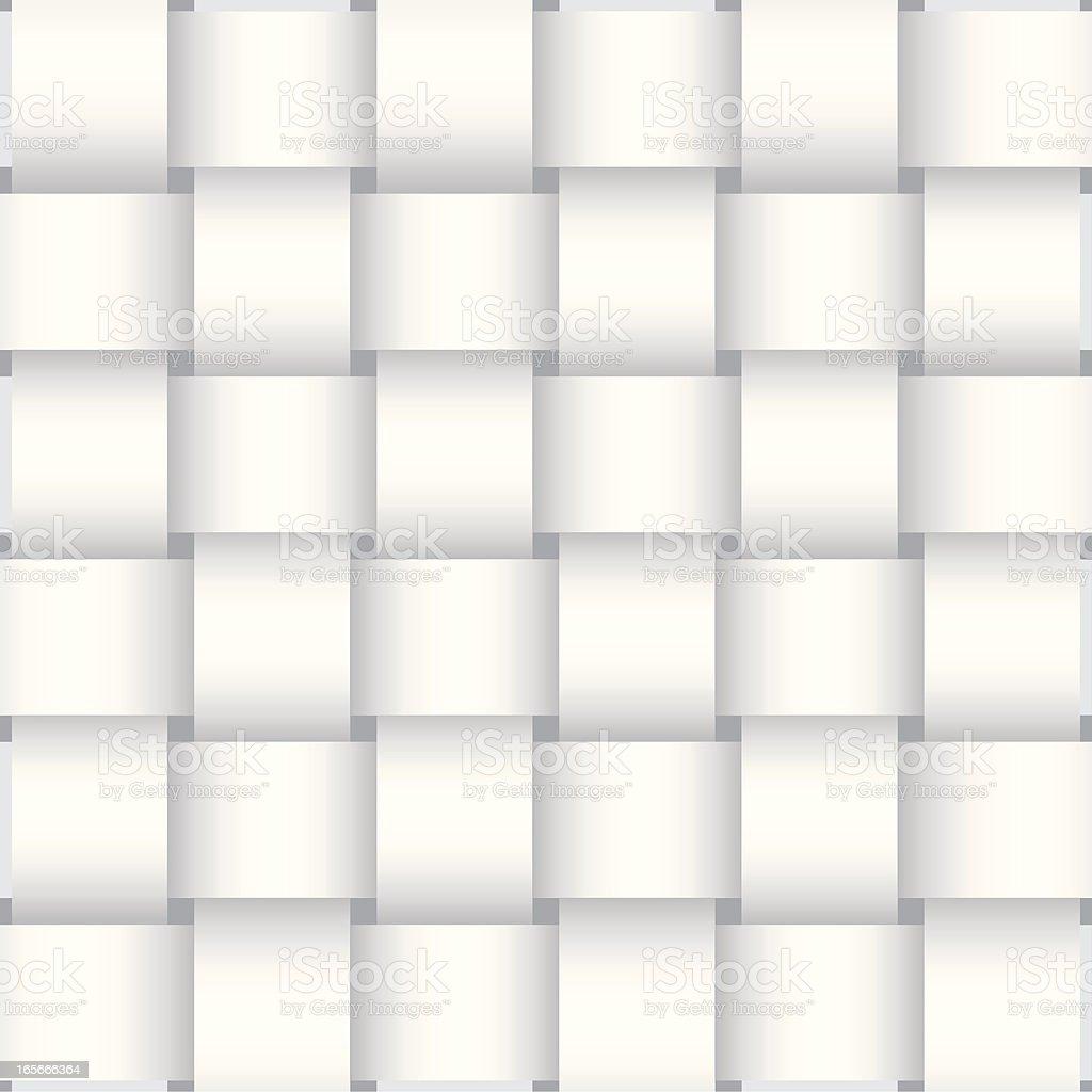 Basket Weave Background Pattern vector art illustration