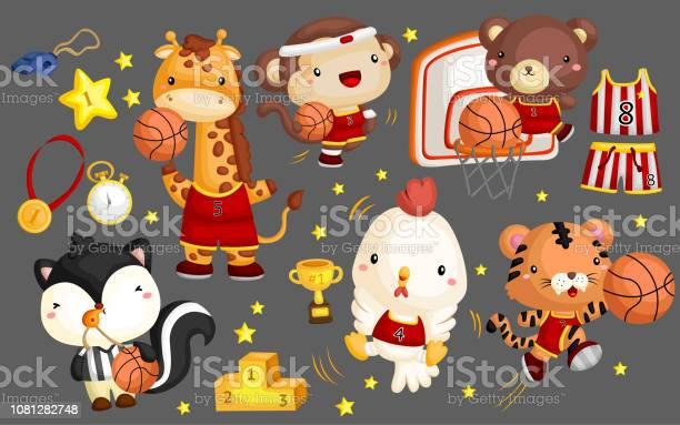 Basketball animal vector set vector id1081282748?b=1&k=6&m=1081282748&s=612x612&h=c9dp31yw3je3uoe 5jcjvs j 8clw6m9s9d8xattbdm=