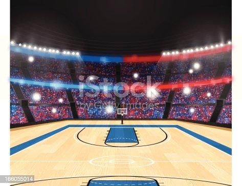 istock Basketball Arena 166055014