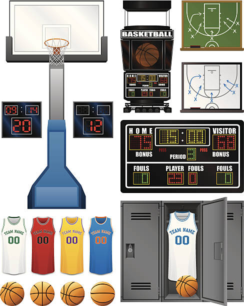 Basketball Scoreboard Illustrations, Royalty-Free Vector ... (488 x 612 Pixel)