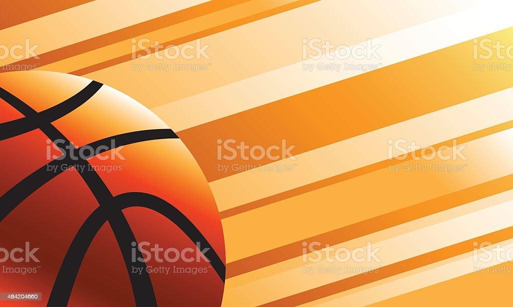 Fondo de baloncesto - ilustración de arte vectorial