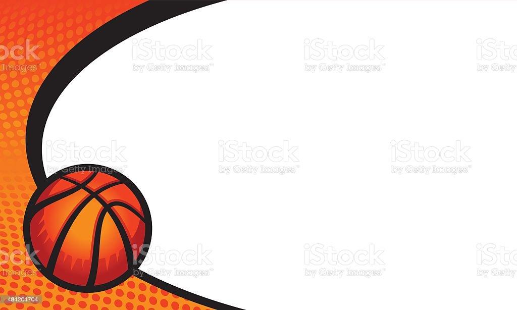 Basketball Background stock vector art 484204704 iStock