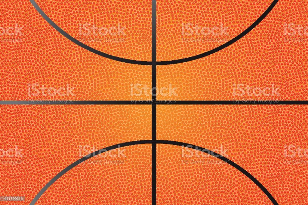 Basketball background, vector vector art illustration