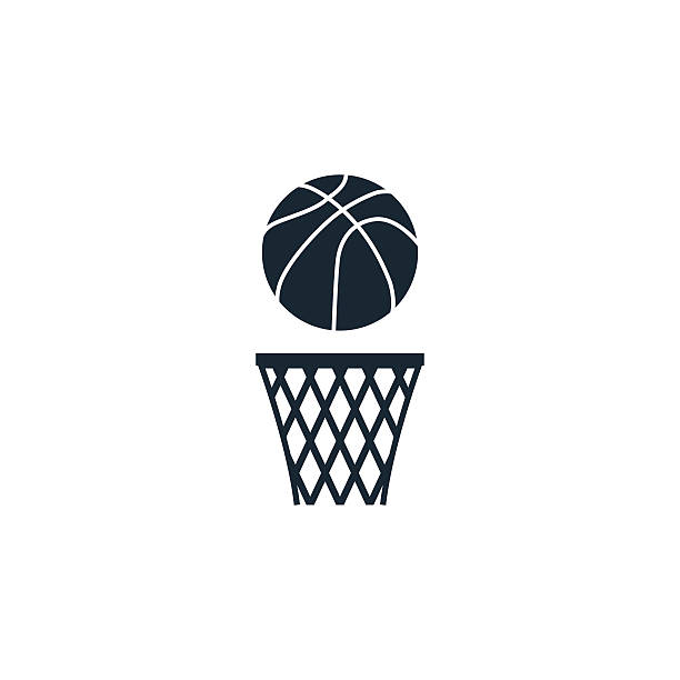 basketball ball-Symbol – Vektorgrafik