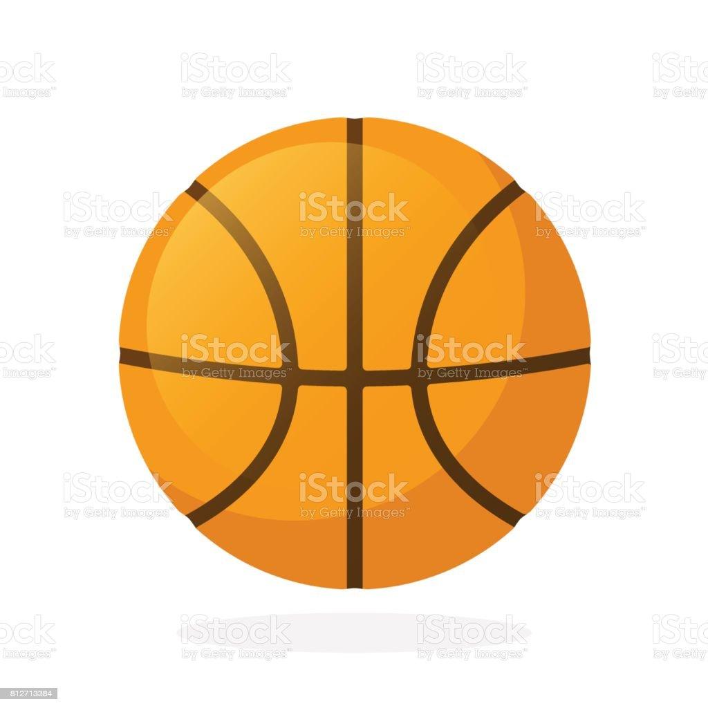 Basketball ball - Royalty-free Basketball - Ball stock vector
