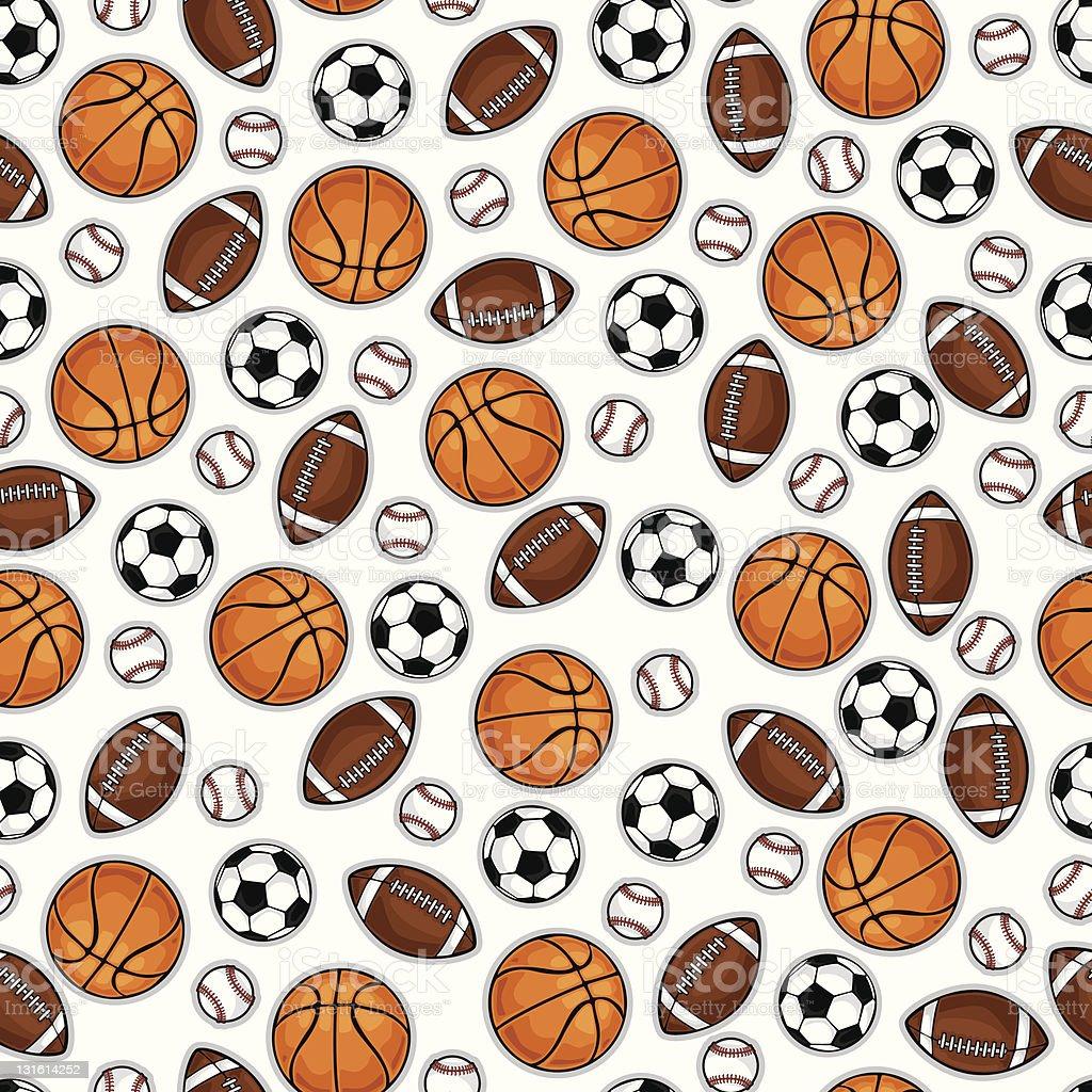 Basketball pattern vector